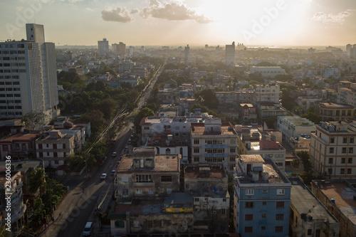 fototapeta na ścianę Havana Skyline