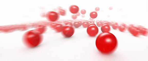 Fast Moving Balls