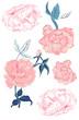 Peonies and vintage roses - 236034120