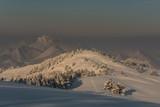 Zima w Pieninach .