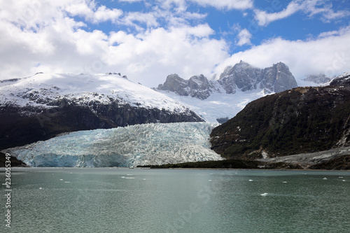 Pia Gletscher in Patagonien. Chile