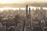 Aerial View of Manhattan © Jon