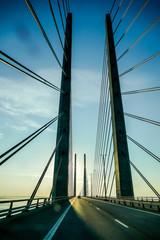 bridge over river, in Norway Scandinavia North Europe