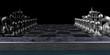 Leinwanddruck Bild - Modernes Schachbrett