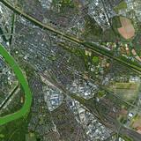 Luftbild Mannheim Oststadt - 236083592