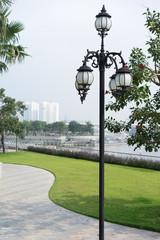 classic Lantern at riverside