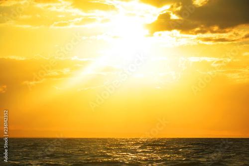fototapeta na ścianę Beautiful sunset Samana Dominican Republic
