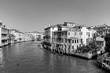 Quadro view to the Canale Grande in Venice, Italy