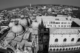 skyline of venice from san marco tower