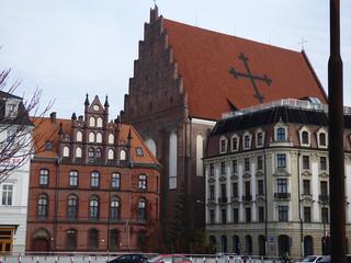 Rynek Centrum Wrocław.