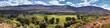 Late Summer early Fall panorama forest views hiking, biking, horseback trails through trees along Highway 40 near Daniels Summit between Heber and Duchesne in the Uintah Basin, Utah, USA.  - 236214106