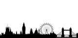 London skyline - vector © siloto