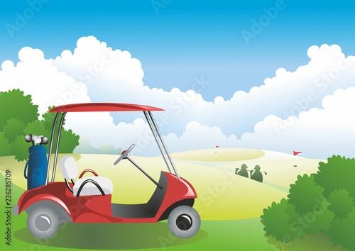 Carrito de golf - 236285709