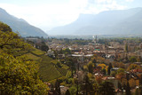 View to Meran, Position