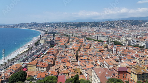 aerial view of nice - 236346948