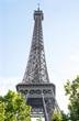 Eiffel tower Paris France famous french landmark
