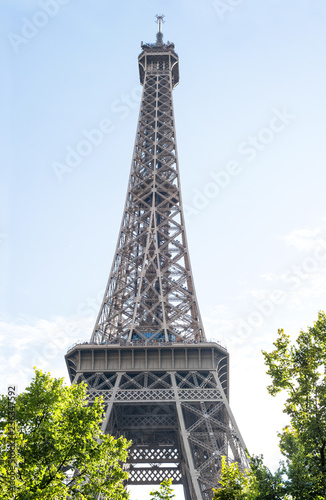 Eiffel tower Paris France famous french landmark - 236347592