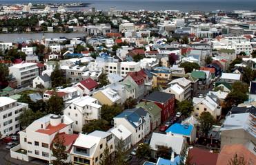 Reykjavík Aerial View