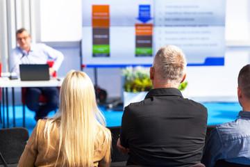 Coaching training or business presentation