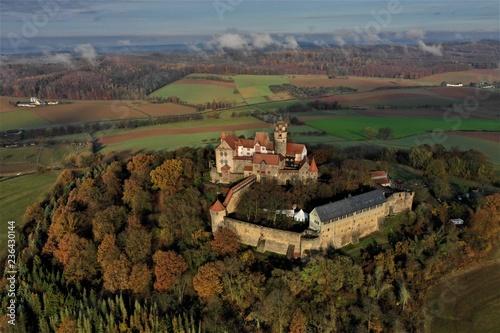 Zdjęcia lotnicze Burg Ronneburg