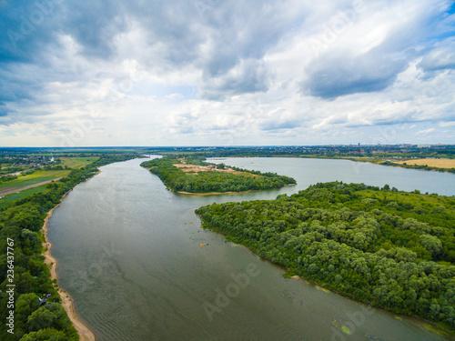 Oka river view