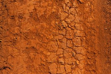 chão de terra seco