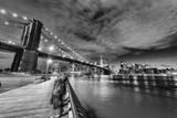Brooklyn Bridge by night © dade72