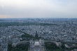 Paris panoramic air view from the Eiffel Tower. Travel around Paris. Sightseeing of France. - 236480549
