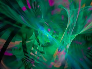 abstract fractal digital design beautiful