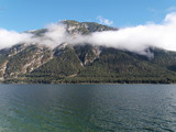 Lac Achen (Achensee) en Autriche avec vue sur le massif du Rofan - 236578126
