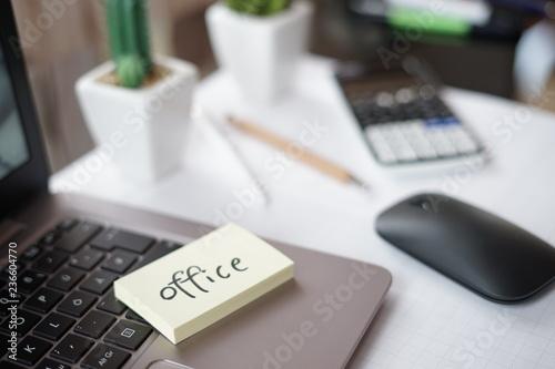 fototapeta na ścianę Workspace - Office
