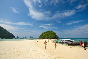 Tub island,  Andaman Sea, Ao Nang beach, krabi, Thailand.