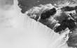 The Niagara River Cuts through the United States and Canada At Horseshoe Falls