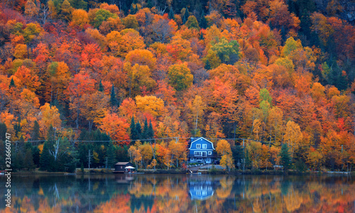 Lac Superieur in Quebec near Mont Tremblant © SNEHIT
