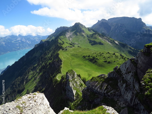 mountains in the austrian alps - 236664718