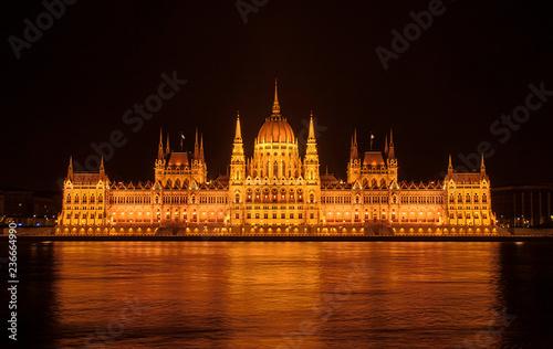 fototapeta na ścianę parliament of hungary in budapest