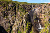 Voringsfossen waterfall, Hardangervidda route, Norway