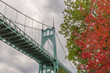St Johns Bridge and foliage