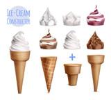 Realistic Ice Cream Constructor - 236725502