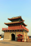 Drum tower in an ancient city