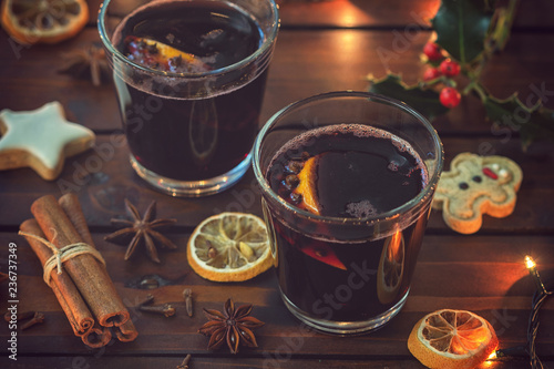 Hot Mulled wine for the Christmas - 236737349