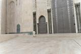Detail, Tür mit Fassade, Hassan II Moschee in Casablanca, Marokko, Nordafrika, Afrika - 236748359
