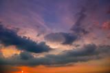 Sunset Sky Background in summer - 236773764