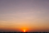 Sunset Sky Background in summer - 236775381