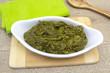 Leinwandbild Motiv spinach