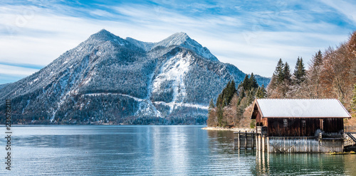walchensee lake in bavaria - 236782111