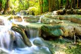 parc national Erawan ; cascade et chute d'eau naturel