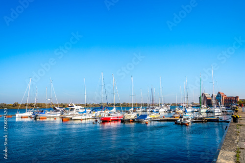 Rostock, Hafen, Deutschland
