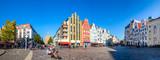 Kröpeliner Straße, Kröpeliner Tor, Altstadt, Rostock, Deutschland