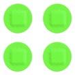 Leinwandbild Motiv Strips of ADHESIVE BANDAGES PLASTER - UFO Green Color